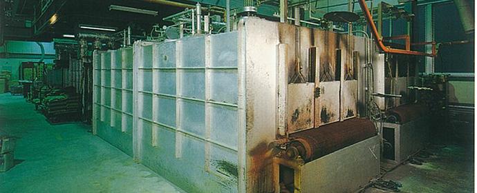 ガラス徐冷炉 炉型式 硝子徐冷炉 炉内雰囲気 大気 用途 硝子製品の歪み取り 処理量... その